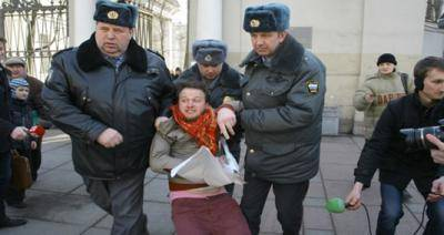 Gay rights activist Nikolai Alekseev arrested in St Petersburg